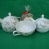 Tea for one Blumenmotiv